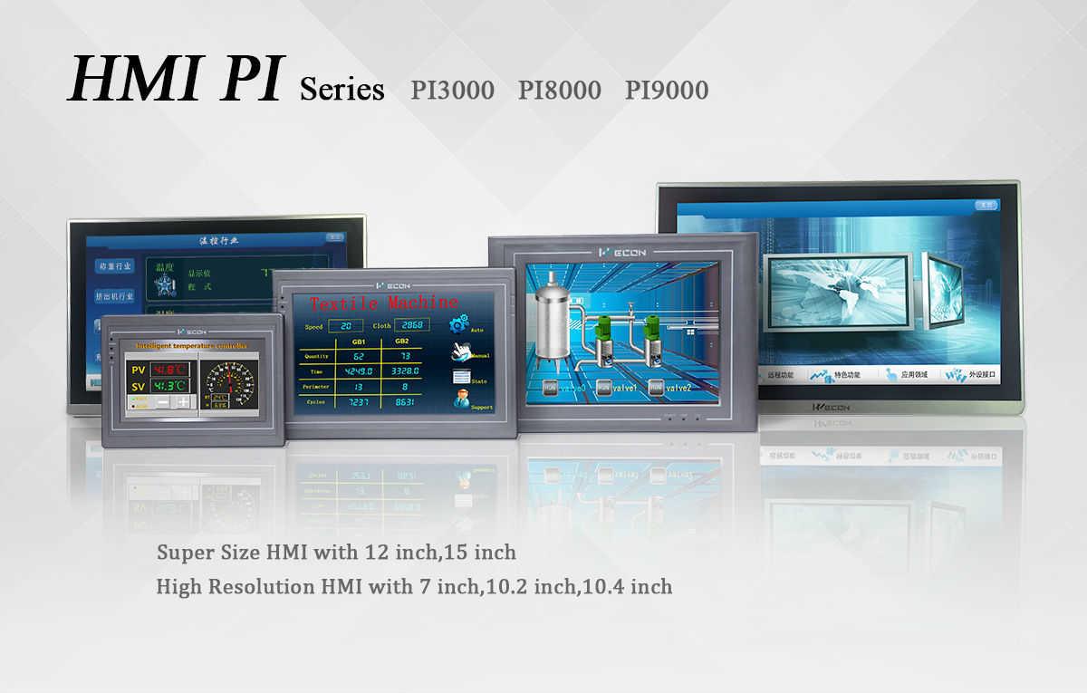 WECON PI серия HMI (человеко-машинный интерфейс)