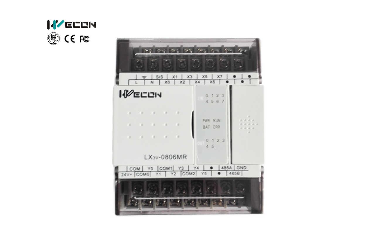 Wecon 14 I/O PLC : LX3V-0806MR